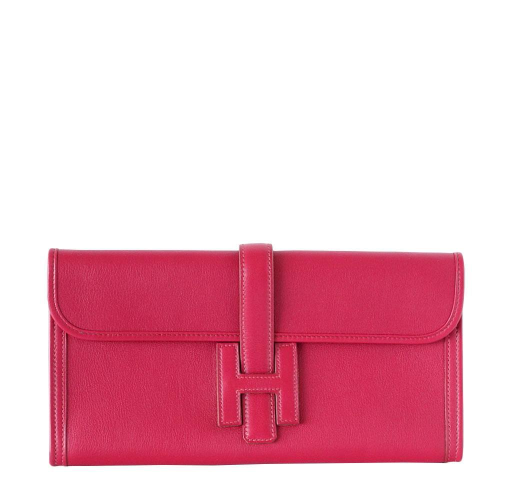 e73f6c624e9e Hermès Jige 29 Rubis Clutch - Swift Leather