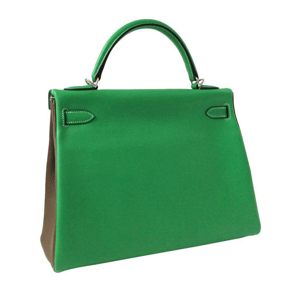 Hermes Kelly 32 3 color New Back Side