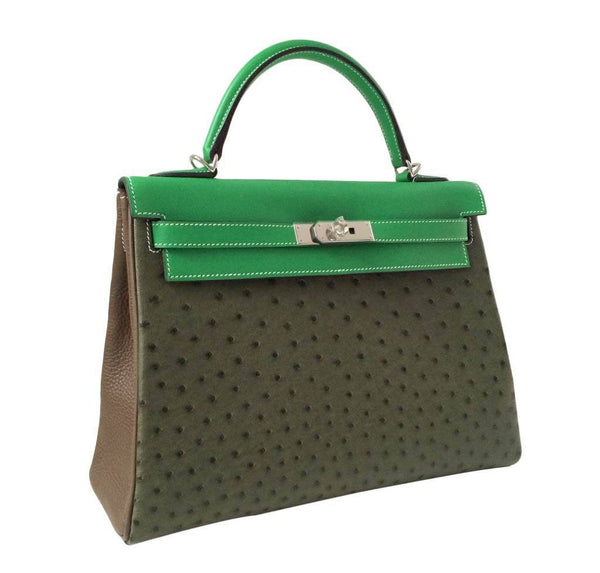 Hermes Kelly 32 3 color New Side
