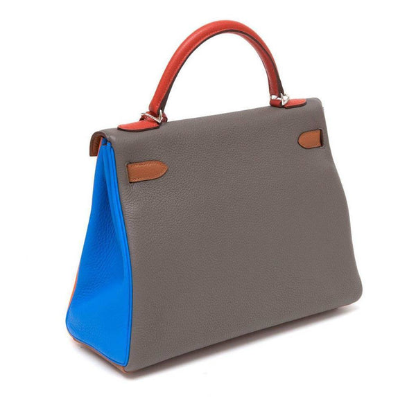 Hermes Kelly 32 Arlequin New Side