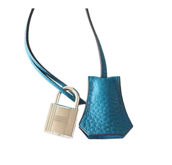Hermes Kelly 32 Blue Izmir Used Lock