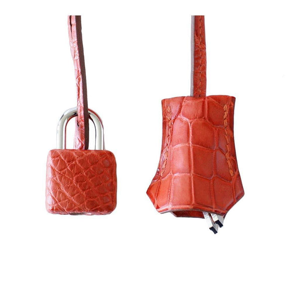 Hermes Kelly 35 Alligator Sanguine New Lock