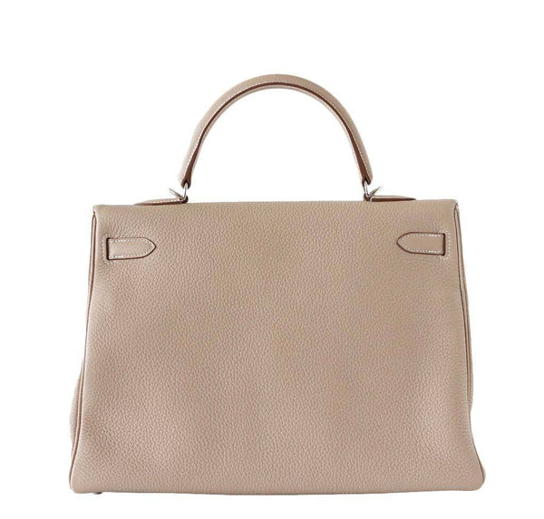 Hermes Kelly 35 Argile New Back