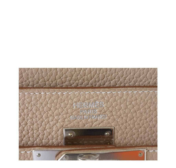 Hermes Kelly 35 Argile New Embossing