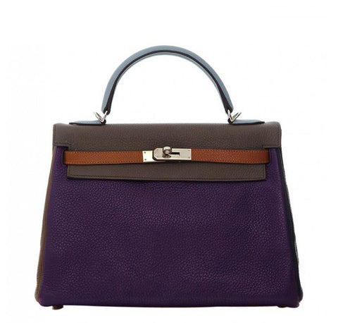 Hermes Kelly 35 Arlequin Bag