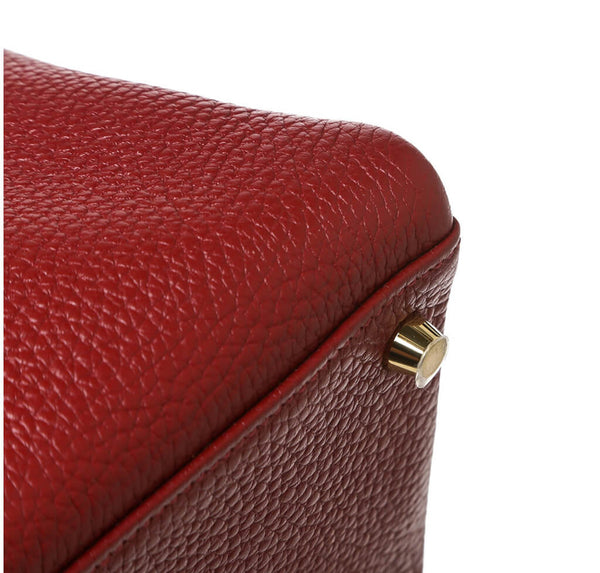 Hermes Kelly 35 Rouge H Used Corner