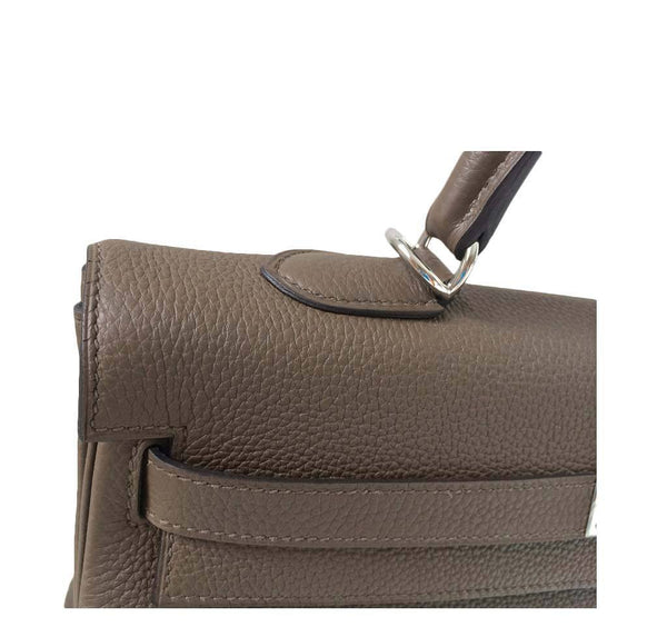 Hermes Kelly 35 Taupe New Detail