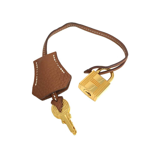 Hermes Kelly 40 Gold Used Keys