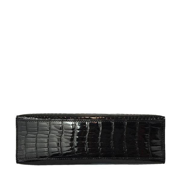 Hermes Kelly Mini Pochette Crocodile New Bottom