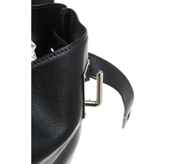 Hermes Kelly Relax Travel Black Used Detail