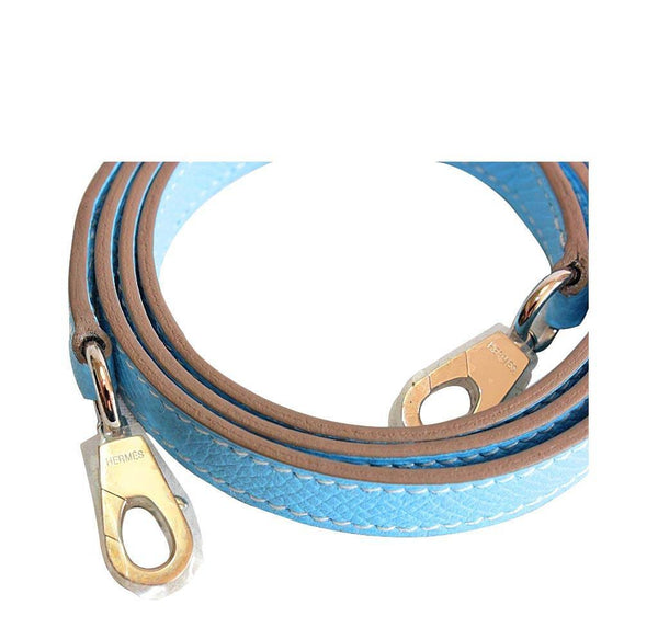 Hermes Tiny Kelly Blue New Strap