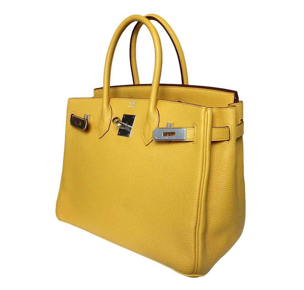 Hermes birkin Soleil yellow new side