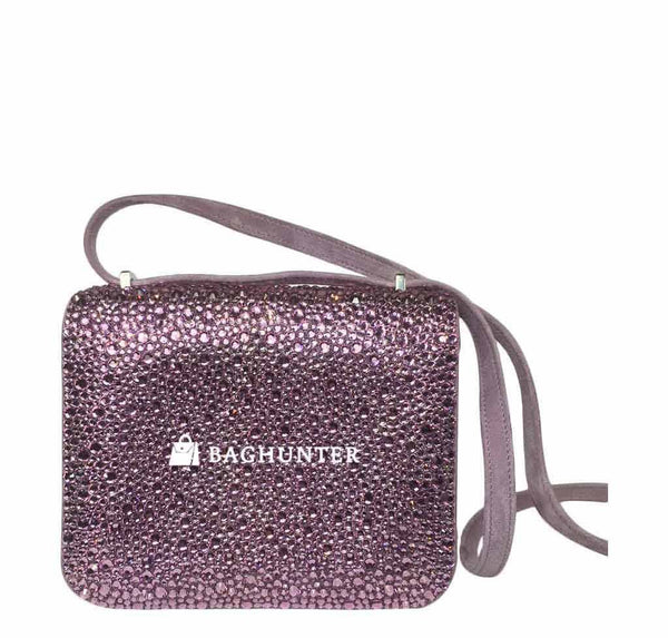 Hermes constance crystal lilas new back