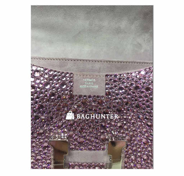 Hermes constance crystal lilas new embossing