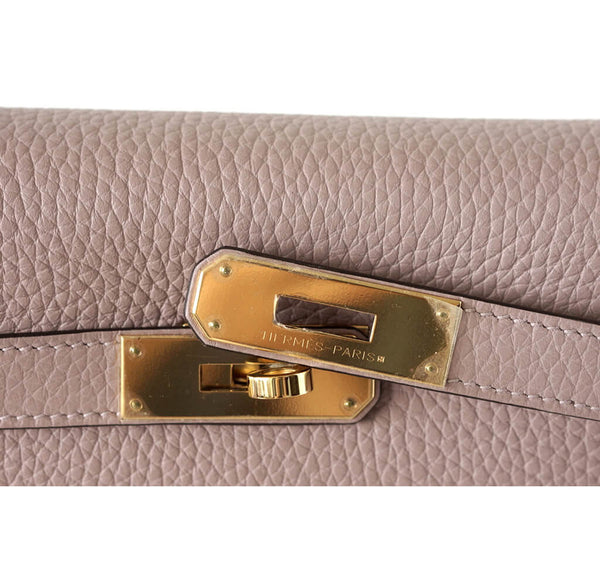 Hermes Kelly 32 Glycine New Engraving