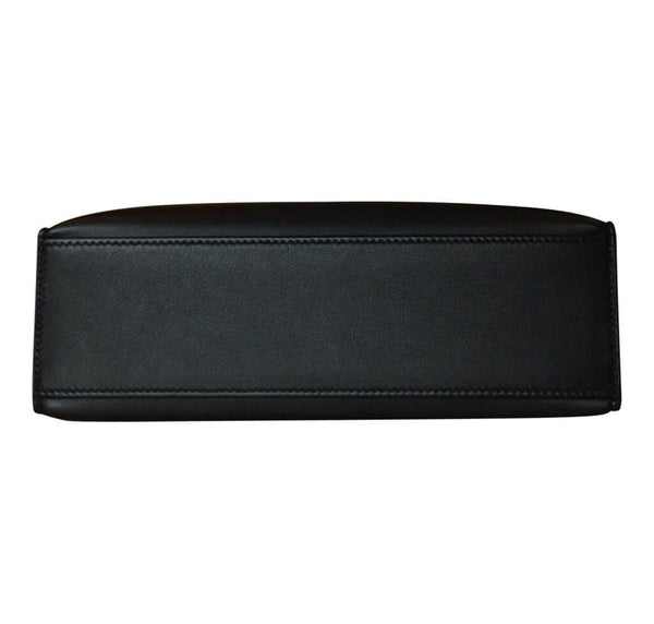 Hermes Kelly Pochette Black Leather
