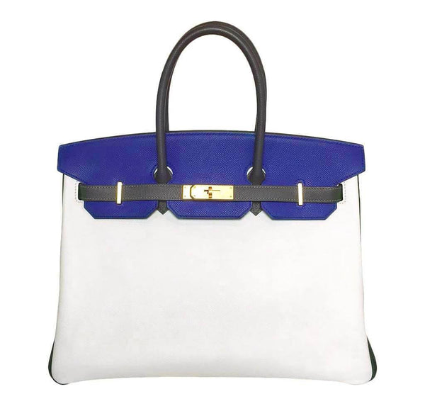 Hermes Birkin 35 Tri-Color SO Bag