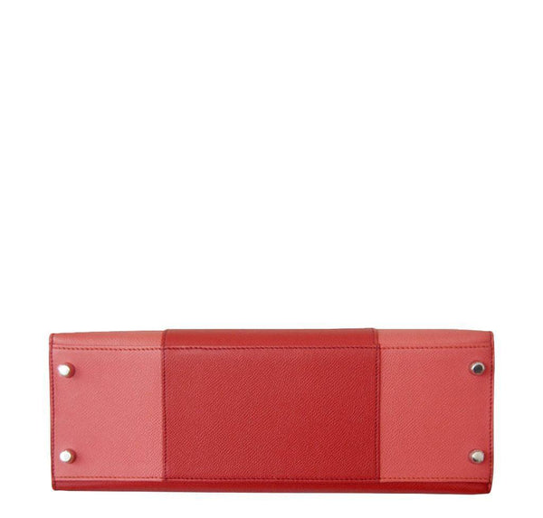 Hermes Kelly 32 Sellier Flag Flamogo Coral new bottom