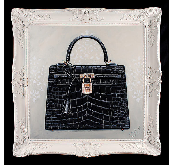 Original Timeless Hermes Kelly Painting