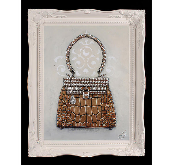 Original Hermes Kelly Sac-Bijou Painting