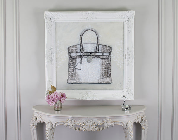 Limited Edition Himalayan Hermes Birkin Giclée on Wal