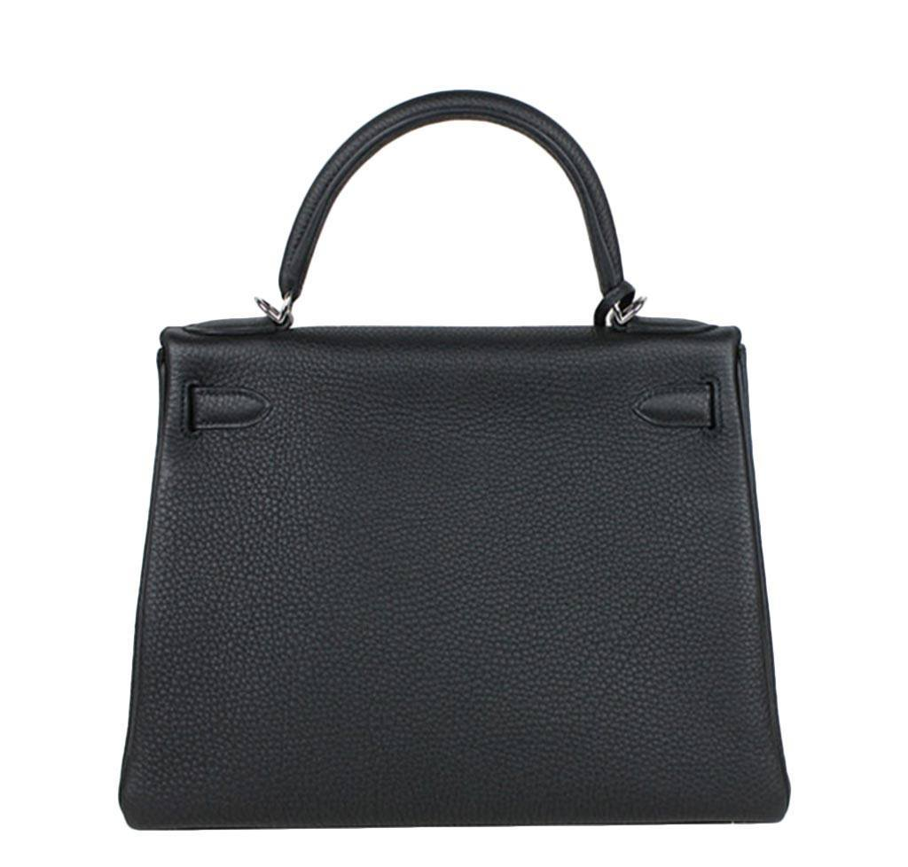 best hermes replica website - Hermes Kelly 28 Black - Togo Leather PHW | Baghunter