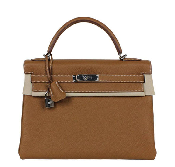 Hermes Kelly 32 Gold Togo Bag