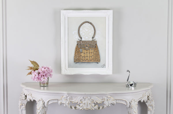 Hermes Kelly Sac-Bijou Giclée Painting on Wall