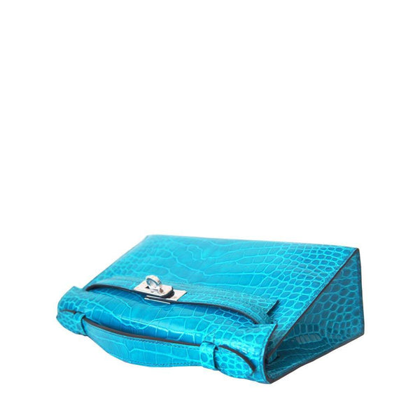 New Hermes Alligator Kelly Pochette Top