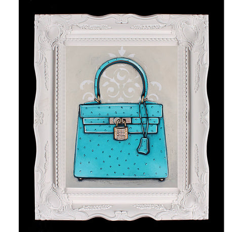 Hermes Kelly Diamond Ocean Dream Giclée