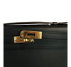 Hermes Kelly Cut Noir Swift gold hardware pristine engraving