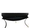 Hermes Kelly Cut Noir Swift gold hardware pristine interior