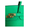 Hermes Birkin 35 Bamboo Green Togo gold hardware very good clasp