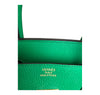Hermes Birkin 35 Bamboo Green Togo gold hardware very good embossing