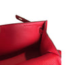 Hermès Kelly Pochette Mini Rouge Casaque Epsom GHW Bag pristine embossing