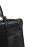 Hermes Kelly 35 Ebene Evergrain Calfskin very good palladium corner