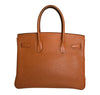 Hermès Birkin 30 Potiron Orange Togo palladium good back