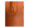 Hermès Birkin 30 Potiron Orange Togo palladium good stitching