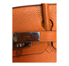 Hermès Birkin 30 Potiron Orange Togo palladium good clasp