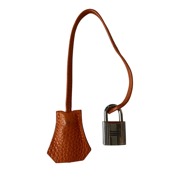 Hermès Birkin 30 Potiron Orange Togo palladium good lock keys clochette