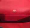 Hermès Kelly Pochette Mini Rouge Casaque Epsom GHW Bag pristine stamp