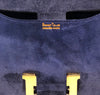Hermes Constance 24 Vintage Navy Suede gold very good stamp