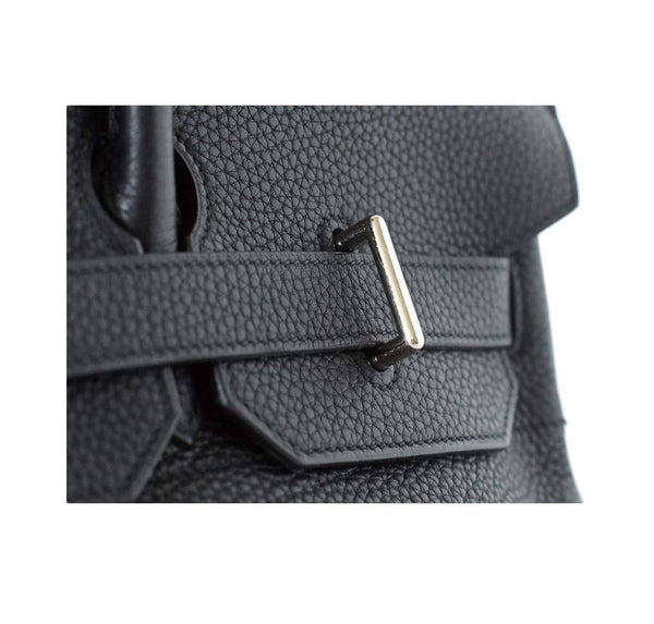 hermes birkin jpg black used detail