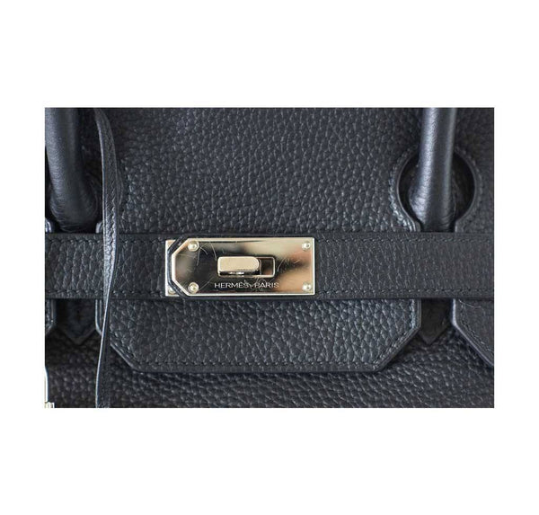 hermes birkin jpg black used engraving
