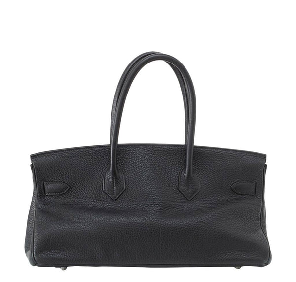hermes birkin jpg black used back