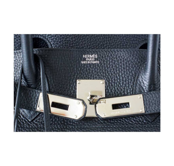 hermes birkin jpg black used embossing