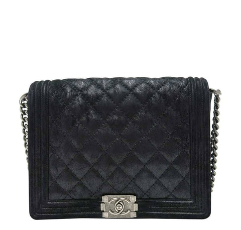 Chanel Boy Bag Black Lambskin