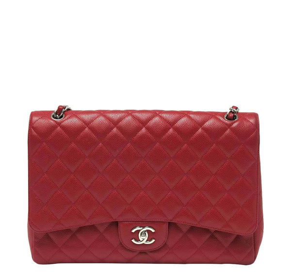 Chanel Single Flap Bag Red