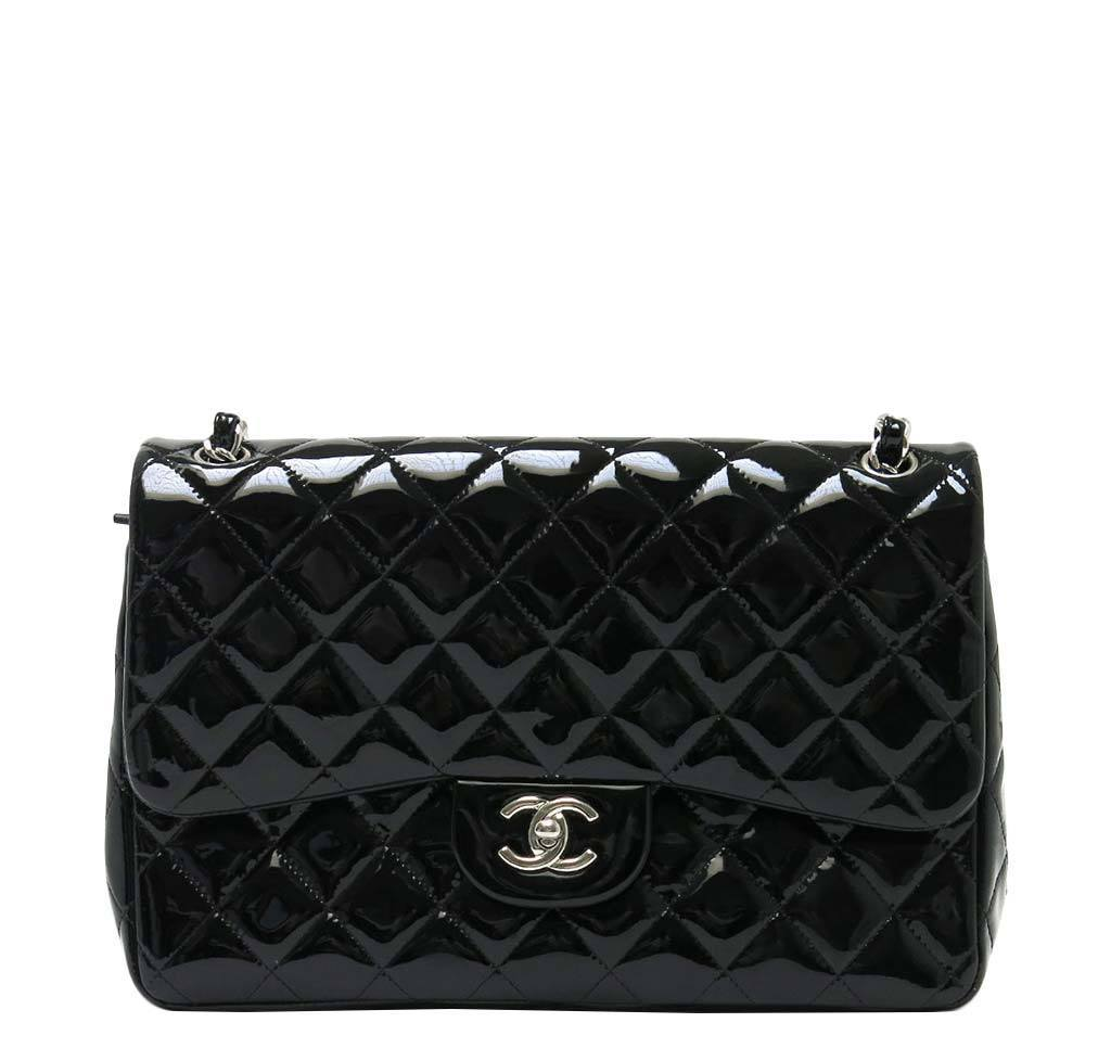 8532664a52f5 Chanel Black Classic Double Flap Bag | Baghunter