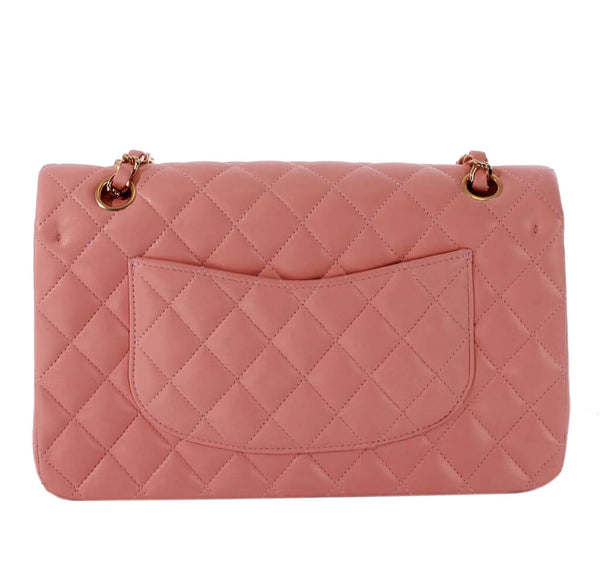 Chanel 2.55 Bag Pink Lambskin Leather